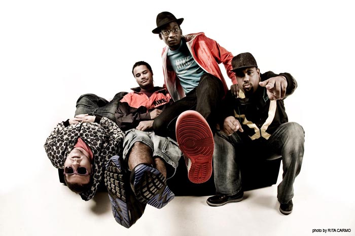 Buraka Som Sistema with 2008'Nike collection